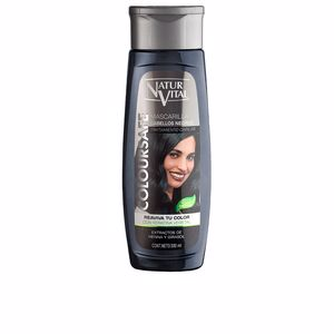 Hair mask MASCARILLA COLOURSAFE negro Naturvital