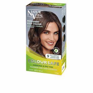Tintes COLOURSAFE tinte permanente #5-castaño claro Natur Vital