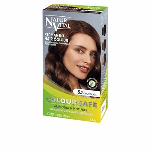 Tintes COLOURSAFE tinte permanente #5.7-chocolate Natur Vital