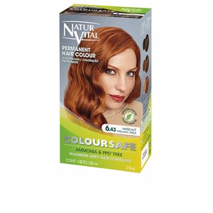 Dye COLOURSAFE tinte permanente #6.43-avellana Naturvital