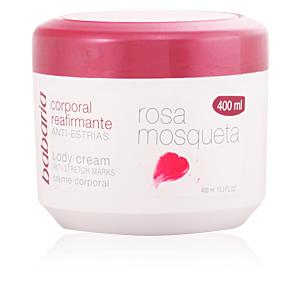 Tratamiento antiestrías ROSA MOSQUETA crema corporal anti-estrías Babaria
