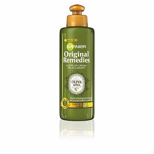 Hair repair treatment ORIGINAL REMEDIES crema sin aclarado oliva mítica Garnier