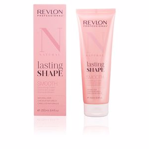 Keratin treatment LASTING SHAPE smooth natural hair Revlon