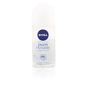 Desodorante PURE INVISIBLE 48H 0% deodorant roll-on Nivea