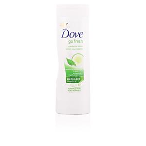 Hidratante corporal GO FRESH pepino & té verde loción corporal Dove