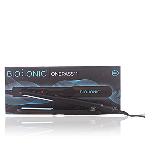 Hair straightener BIO IONIC onepass silicone speed strip 1.0 Iron Bio Ionic