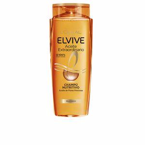 Shampooing anti-casse ELVIVE aceite extraordinario champú cabello seco L'Oréal París