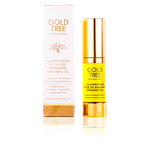 Flash effect FIGUE DE BARBARIE illuminating organic oil Gold Tree Barcelona