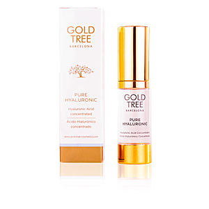 Anti aging cream & anti wrinkle treatment PURE HYALURONIC acid concentrated Gold Tree Barcelona