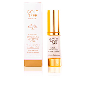 Anti aging cream & anti wrinkle treatment NATURAL BOTOX-LIKE ultimate serum Gold Tree Barcelona