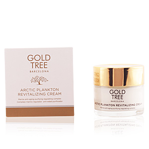 Soin du visage anti-fatigue ARCTIC PLANKTON revitalizing cream Gold Tree Barcelona