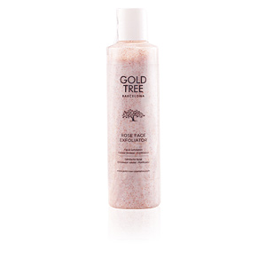 Face scrub - exfoliator ROSE face exfoliator Gold Tree Barcelona