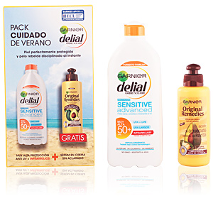 Set Cuidado Solar SENSITIVE ADVANCED LECHE SPF50+ LOTE Delial