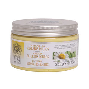 Hair mask for damaged hair - Shiny hair mask - Hair mask CAMOMILA mascarilla reflejos rubios