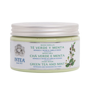 Hair mask for damaged hair TÉ VERDE & MENTA mascarilla cabello graso Camomila Intea