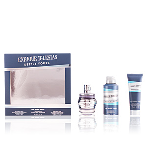 Singers ENRIQUE IGLESIAS DEEPLY YOURS MAN SET perfume