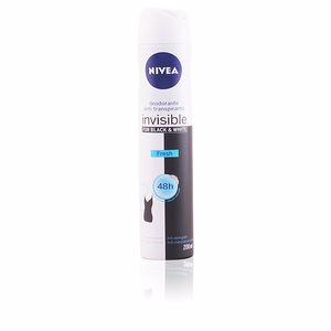 Desodorizantes BLACK & WHITE INVISIBLE FRESH deodorante anti-transpirante spray Nivea