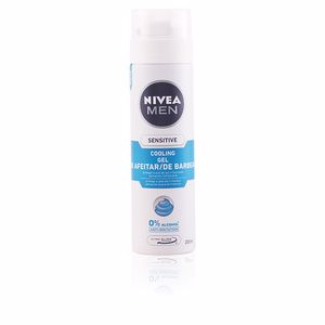 Mousse à raser MEN SENSITIVE COOL gel afeitar 0% alcohol Nivea