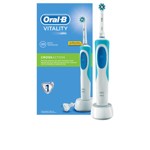 Toothbrush VITALITY CROSS ACTION electric toothbrush #blue Oral-B