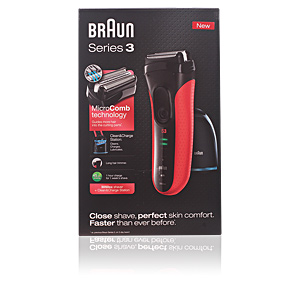 Electric shavers SERIES 3-3050cc shaver #red Braun