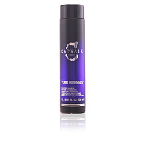 Shampooing cheveux bouclés CATWALK your highness elevating shampoo Tigi