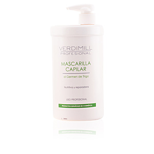 Hair mask for damaged hair VERDIMILL PROFESIONAL mascarilla germen de trigo Verdimill