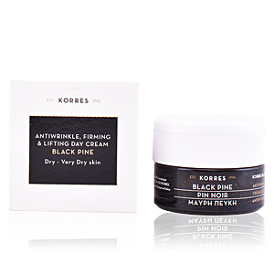 Anti aging cream & anti wrinkle treatment BLACK PINE anti wrinkle, firming & lifting day cream Korres