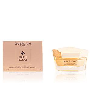 Anti aging cream & anti wrinkle treatment ABEILLE ROYALE crème riche jour Guerlain