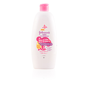 Shiny hair products BABY acondicionador gotas de brillo Johnson's