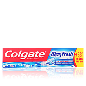 MAX FRESH azul pasta dentífrica 75 ml + 33%