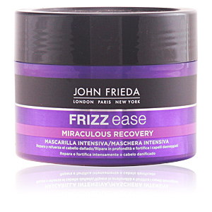 Hair mask for damaged hair FRIZZ-EASE mascarilla fortalecedora intensiva John Frieda