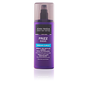 Hair styling product FRIZZ-EASE spray perfeccionador rizos John Frieda
