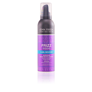Hair styling product FRIZZ-EASE espuma rizos revitalizados John Frieda