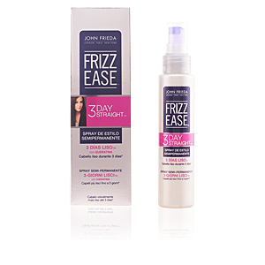 Produit coiffant FRIZZ-EASE 3 días liso spray alisador semipermanente John Frieda