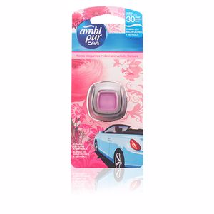 Air freshener CAR ambientador desechable #frescura floral Ambi Pur