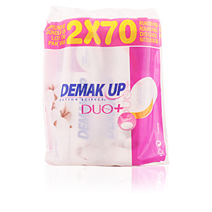DEMAK'UP DUO discos desmaquilladores 2 x 70 uds