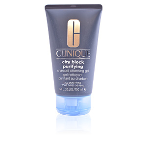 Limpiador facial CITY BLOCK purifying charcoal cleansing gel Clinique