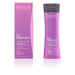 Hair repair conditioner BE FABULOUS hair recovery cream conditioner Revlon