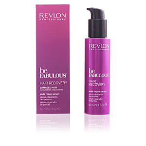 Hair repair treatment BE FABULOUS hair recovery ends repair serum Revlon