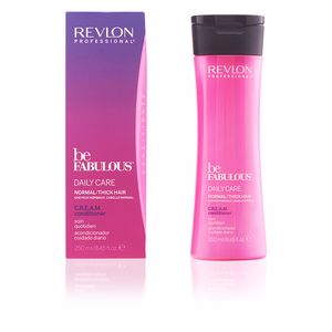 Detangling conditioner BE FABULOUS daily care normal cream conditioner Revlon