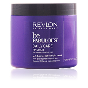Mascarilla para el pelo BE FABULOUS daily care fine hair cream mask Revlon