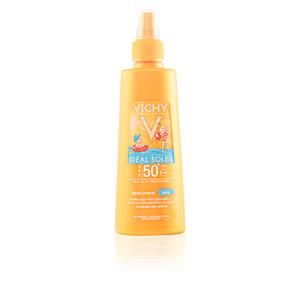 Visage IDÉAL SOLEIL spray suave niños SPF50 Vichy