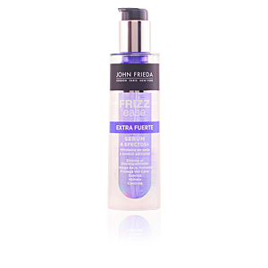 Heat protectant for hair - Hair styling product FRIZZ-EASE serum 6 efectos extra fuerte John Frieda