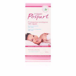 Slipeinlagen POSPART sanitary pantyliners 100% cotton Indasec