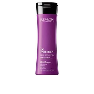 Keratin shampoo - Hair loss shampoo BE FABULOUS recovery cream shampoo Revlon