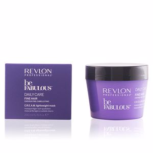 Maschera per capelli BE FABULOUS daily care fine hair cream mask Revlon