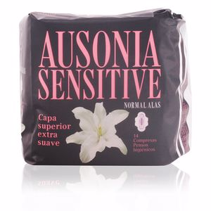 Compress AUSONIA SENSITIVE compresas normal alas Ausonia