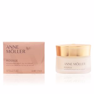 Creme antirughe e antietà ROSÂGE nourishing night oil-in-cream Anne Möller