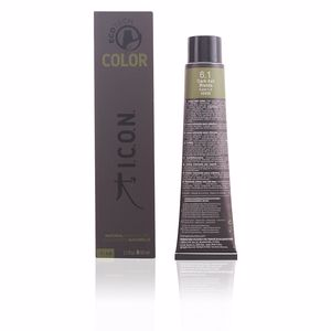 Haarfarbe ECOTECH COLOR natural color #6.1 dark ash blonde I.c.o.n.