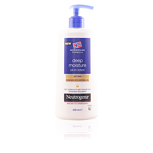 Hydratant pour le corps DEEP MOISTURE oil in lotion dry skin Neutrogena